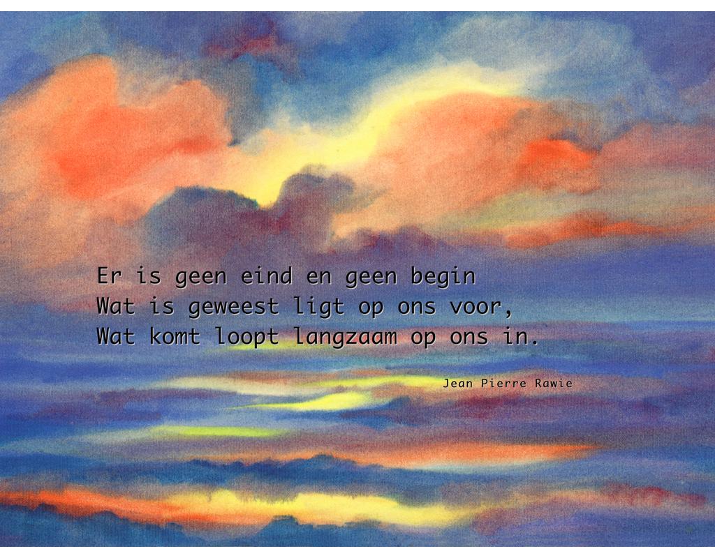 Er is geen eind ...